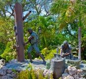 Key West parcheggia immagini stock libere da diritti