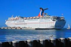 Key west pier Stock Image