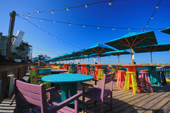 Key west pier Stock Images