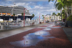Key West Promenade Photo stock