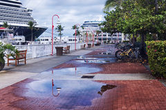 Key West Promenade images libres de droits