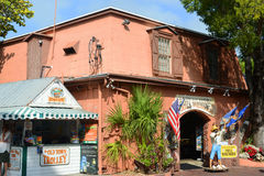Key West Shell Warehouse, Florida, USA. Key West Shell Warehouse at Mallory Square in Key West, Florida, USA Royalty Free Stock Images
