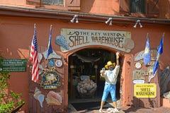 Key West Shell Warehouse, Florida, USA. Key West Shell Warehouse at Mallory Square in Key West, Florida, USA Stock Images