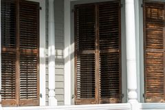 Key West Shutters Royalty Free Stock Image