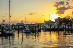 Key West solnedgångberöm Royaltyfria Bilder