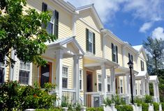 Key West Style Architecture Stock Photos