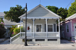 Key West Style House Royalty Free Stock Images