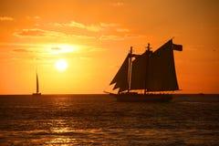 Key West Sunset Stock Images
