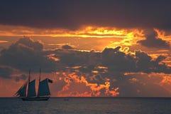 Key west sunset Stock Photos