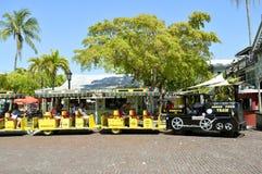 Key West-Tritonshorn-Ausflug-Zug Lizenzfreies Stockfoto