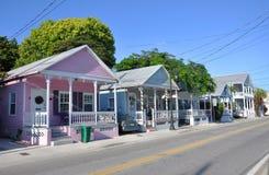 Key West utformar huset Fotografering för Bildbyråer