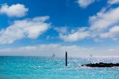 Key West vara el fuerte Zachary Taylor Park Florida imagenes de archivo