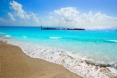 Key West vara el fuerte Zachary Taylor Park Florida fotografía de archivo libre de regalías