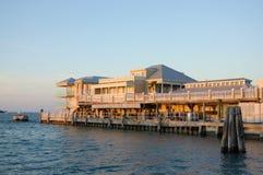 Key West Waterside Buildings Royalty Free Stock Photo