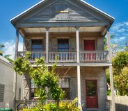 Key West wooden house Royalty Free Stock Photos