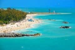 Key wesy beach Royalty Free Stock Image