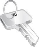 Key on white background royalty free stock photos