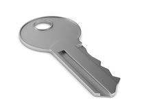 key on white background Stock Photo