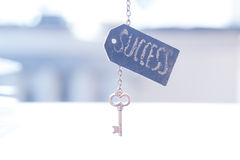 Key with word Royalty Free Stock Image
