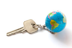 Key from the world Royalty Free Stock Photo