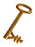 key yen för guld arkivbild