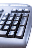 Keyboard. The number pad located on a computer keyboard isolated on white royalty free stock images