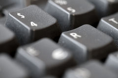 $ keyboard. Dollar sign on a black keyboard Stock Photo