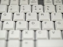 Keyboard. Close up royalty free stock images