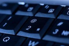 Keyboard. Close up keys of keyboard. computer background Stock Images