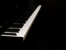 Keyboard 2. Piano Keyboard Stock Photography
