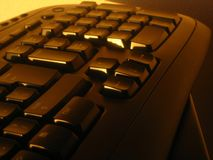 Keyboard. A close up of a keyboard stock image