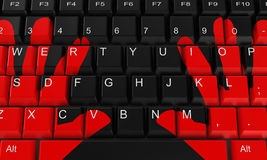 The keyboard Stock Image