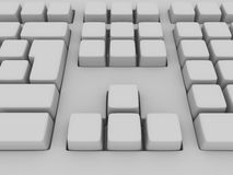 Keyboard stock illustration