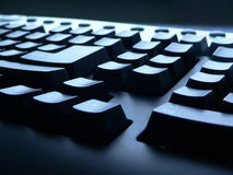 Keyboard. Closeup view Stock Images