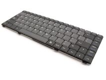 Keyboard. The black keyboard. The photo contains Clipping Path Royalty Free Stock Image