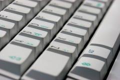Keyboard. A typewriter keyboard Royalty Free Stock Photos