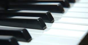 Keyboard. Piano keyboard Royalty Free Stock Images