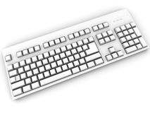 Keyboard. 3d Royalty Free Stock Photography