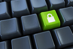 Keyboard with Royalty Free Stock Photo