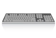 Keyboard. Illustration. Vector. Without mesh Royalty Free Stock Images