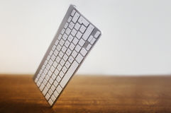 Keyboard at an angle Royalty Free Stock Images