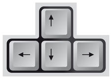 Keyboard, Arrow key Royalty Free Stock Photo