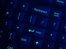 Keyboard background Stock Images