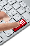 Keyboard_bet_button_choise Royalty Free Stock Photos