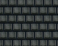Keyboard with blank buttons Stock Photo
