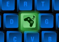 Keyboard button Stock Photography
