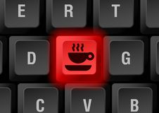 Keyboard button Stock Images