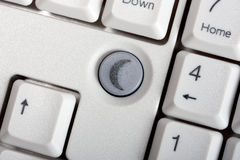 Keyboard with button dream Stock Image