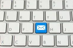 Keyboard with button Email Royalty Free Stock Photo