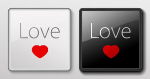 Keyboard button - Love Stock Images